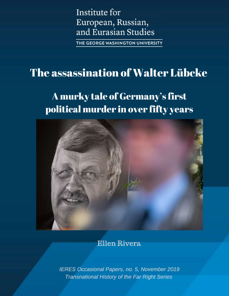 The assassination of Walter Lübcke. A murky tale of Germany's first political murder in over fifty years