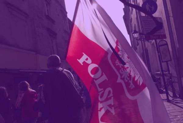 "Photo: ""W drodze na Wawel"", by Piotr Drabik, licensed under CC BY 2.0, Hue modified from the original"