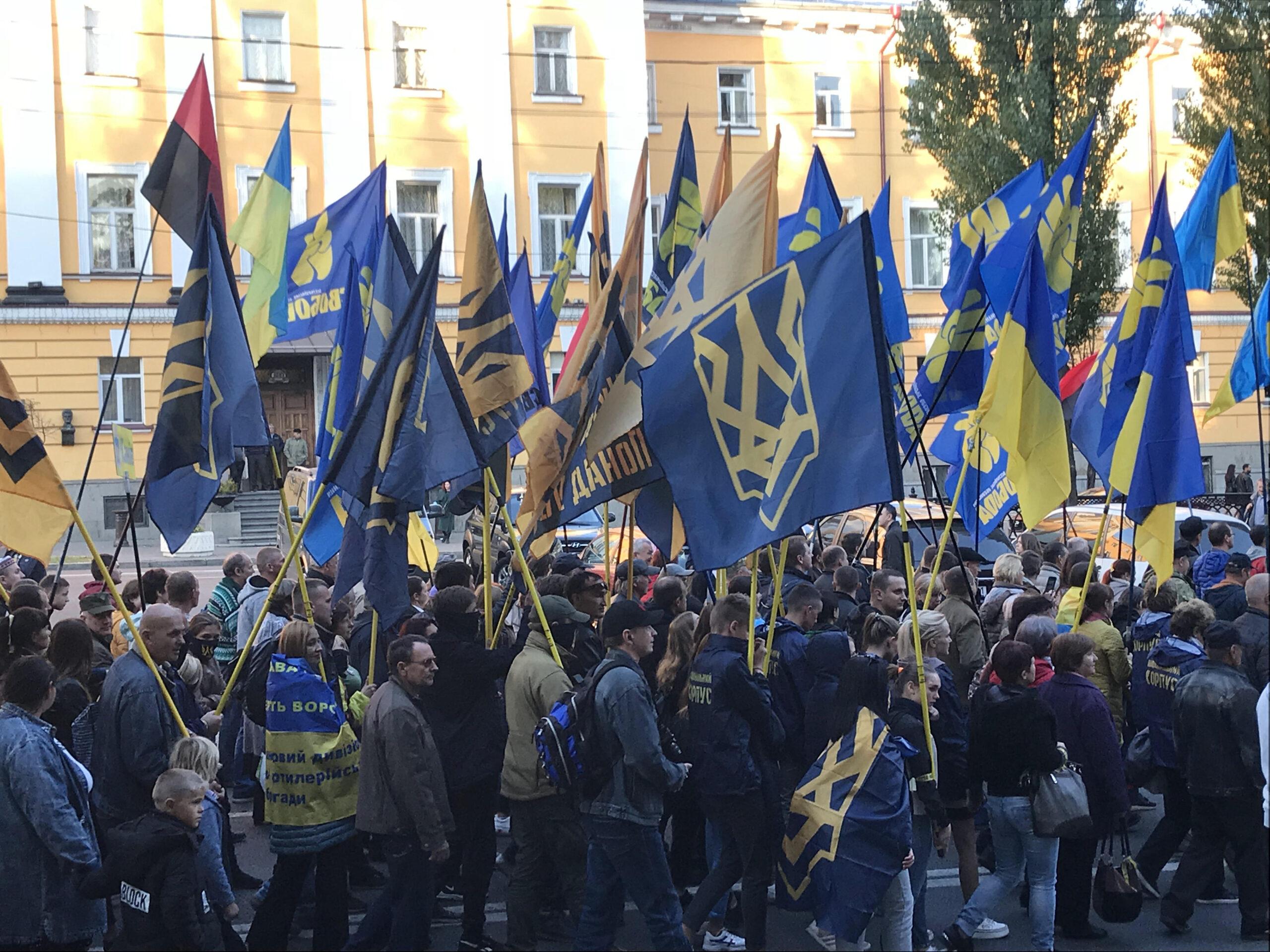 """Olena Semenyaka, The """"First Lady"""" of Ukrainian Nationalism"""