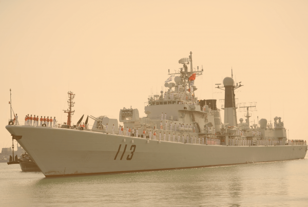 Chinese Type 052 Destroyer Lugu Class ed
