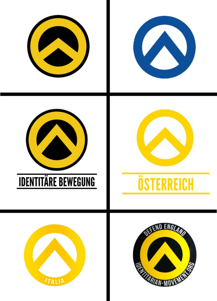 Logos of the European chapters