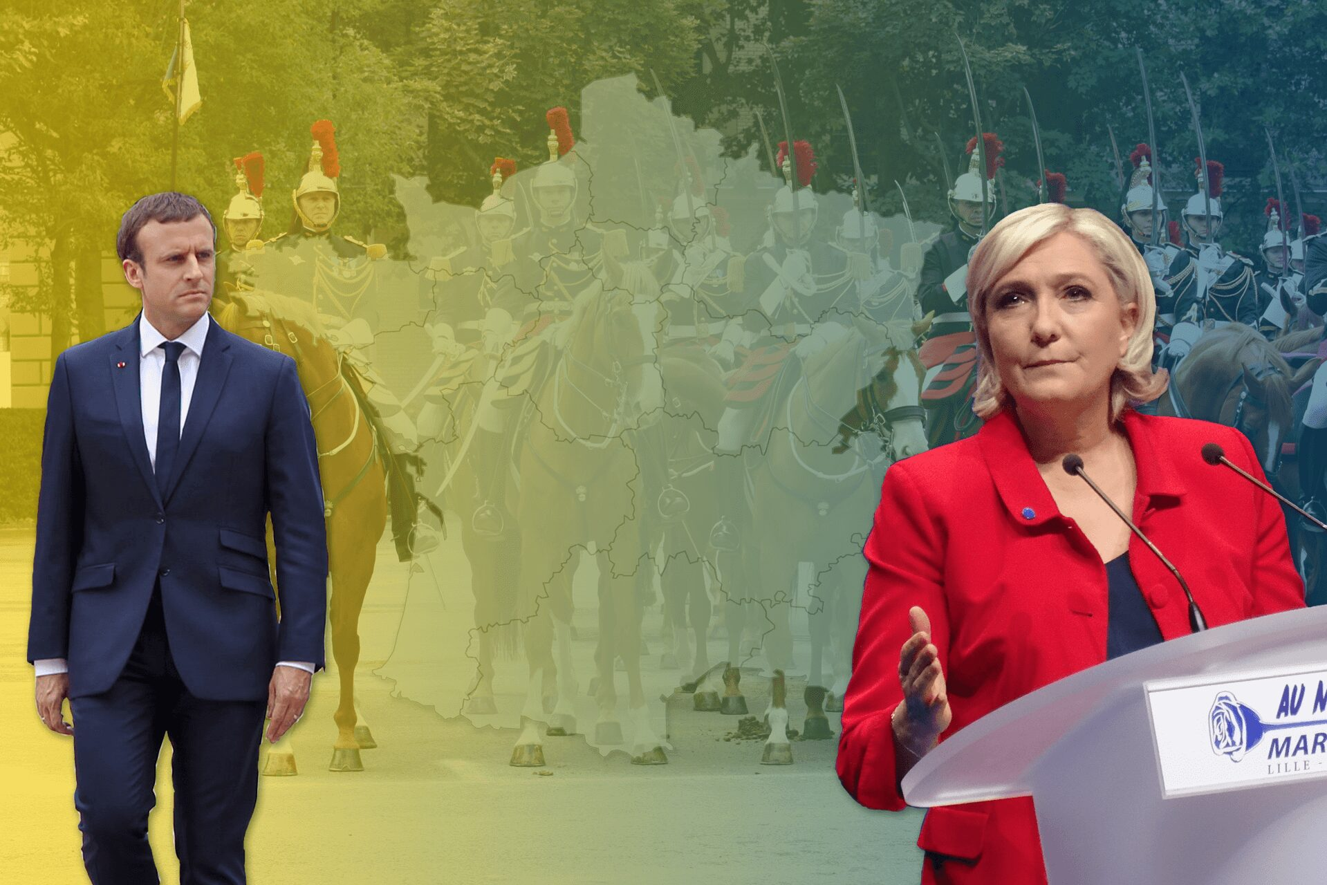 When the military joins the far right: Macron's challenges ahead of the 2022 election
