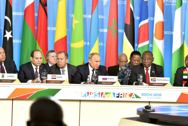 """Photo: """"Russia-Africa Summit,"""" by GovernmentZA licensed under CC BY-ND 2.0."""