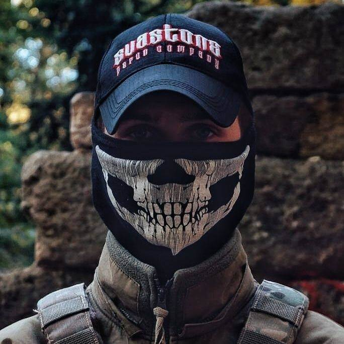 56 Kyrylo Dubrovskyi uses this photo as his Instagram profile picture. Sva Stone is a clothing brand catering to the far right