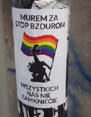 Picture 4 Rainbow flag held by dragon